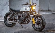 Suzuki GN250 Street Tracker Shanghai Customs