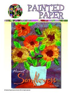 Monet painted seven types of flowers for his still life works. Sunflowers were among his most popular subject matter. This project recreates the beautiful bouquet of Sunflowers that Monet famously painted as well as having children experiment with tempera paints and brushes.Included in this 12-page digital lesson plan:Step by Step full-color photo tutorials from the lessonArt history of Monet paintingsVocabulary Word WallSupplies needed for projectOptions for students to use when creating…