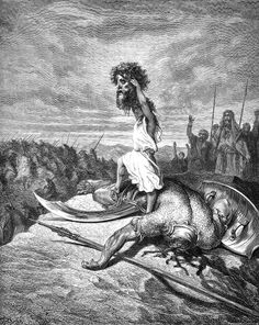 David-goliath28 - Category:Art depicting the Old Testament by Gustave Doré - Wikimedia Commons