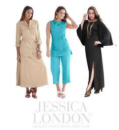 Jessica London Plus Size Clothing