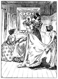 The fairy tales of Hans Christian Andersen' with upwards of four hundred illustrations by Helen Stratton; with an introduction by Edward E. Hale. Published 1899 by J. B. Lippincott Company, Philadelphia