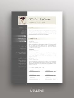 2 Page design / - Professional, creative fully adjustable, minimal . Clean, modern page design. Layout Dare to stand out and get your dream job! Template that will help you in your development Page Layout Design, Cv Design, Resume Design, Branding Design, Resume Cv, Design Cars, Free Cv Template Word, Modern Resume Template, Cover Letter Template