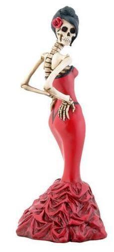 Dia de los muertos Day of the Dead Catrina decor decoration figure figurine New