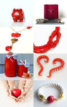 Collection in Red Style by Andrey on Etsy--Pinned with TreasuryPin.com