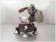 nuts bolts sculpture diy kids | Funzug.com | Tiny Nut Bolt Sculptures | Sculptures, Fasteners, Little ...