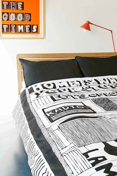 Rude Home Is Where Your Stuff Is King Size Duvet Set
