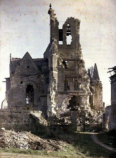 Color Photographs of WWI