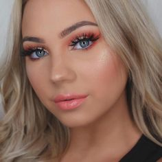 "166.5k Likes, 417 Comments - Kylie Cosmetics (@kyliecosmetics) on Instagram: ""This look is @muakays wearing Apricot on the lips with clear gloss on top and Royal Peach Palette…"""