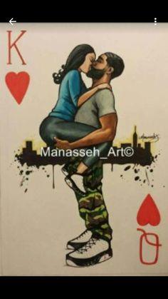 Love this pic❗ ❤ black love art, black couple art, black Black Couple Art, Black Love Art, Black Girl Art, Black Couples, Black Is Beautiful, Black Girl Magic, Arte Dope, Dope Art, Black Art Pictures