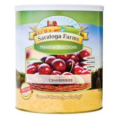 Saratoga Farms Freeze Dried Cranberries