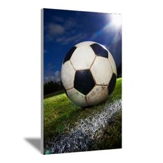 Soccer Ball Canvas Art