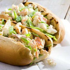 Grilled Lobster Rolls - #healthyrecipe (use lettuce instead of bread)