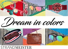Its time to dream in colors! Latest Trends, Lunch Box, Take That, Colors, Bags, Style, Fashion, Handbags, Swag