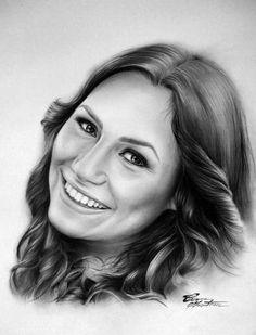 Andra Măruță - Desen în Creion de Corina Olosutean // Andra Măruță - Pencil Drawing by Corina Olosutean
