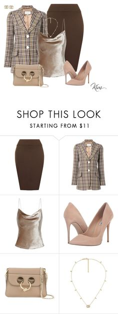 """Headed to work"" by ksims-1 ❤ liked on Polyvore featuring WearAll, Gucci, Fleur du Mal, Steve Madden, J.W. Anderson and Chanel"