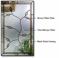 For the home: Decorative Glass by Therma-Tru Doors