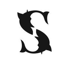 www.linedesign.be - Logo White Shark