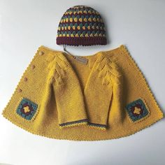 Diy Crafts - 13 Dress Designs For Kids Free Pattern Knit Baby Dress, Knitted Baby Cardigan, Knitted Coat, Hand Knitted Sweaters, Baby Sweaters, Baby Blanket Crochet, Baby Hats Knitting, Knitting For Kids, Baby Knitting Patterns