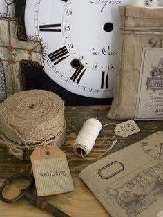 several burlap craft ideas