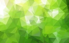 Abstract polygonal background,Green color stock photo