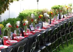 1000 Images About Outdoor Table Decorations On Pinterest