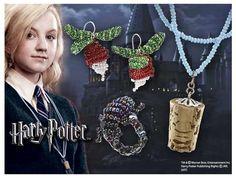 Conjunto de Joyería Harry Potter. Luna Lovegood