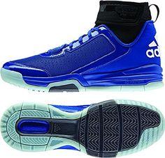 buy popular db14c 7a2a9 Adidas Mens Dual Threat BB Basketball Shoes RoyalBlackWhite