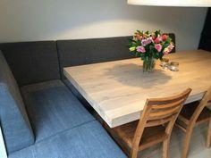 Luxe eetkamer in de keuken Eettafel bank
