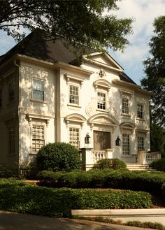 Beautiful neoclassical style luxury home in the Buckhead area of Atlanta, Georgia...