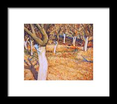 Early spring in apple orchard. Impressionist oil painting by Dusan Balara Fine Art Prints, Framed Prints, Apple Orchard, Original Paintings, Oil Paintings, Early Spring, Impressionist, Wall Art, Beginning Of Spring