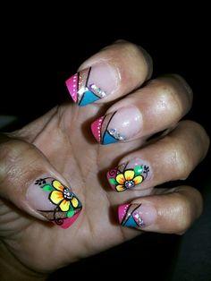 Mis uñas bellas