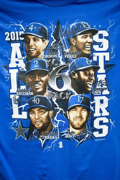 Fresh off the printer, shirts featuring the six All Stars from the Kansas City Royals were being printed Wednesday, July 8, 2015, at Game Time Graphics in Independence. After getting the approval from Major League Baseball earlier in the day, owner David Curtis starting printing the shirts which he expects to deliver to retail outlets on Thursday. Game Time Graphics printed over 80,000 shirts in four different designs for the Royals run in the World Series last fall.