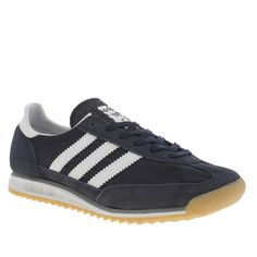Material: Adidas Sl 72, Navy Trainers, Navy Women, Shoe Shop, Kid Shoes, Adidas Women, Adidas Sneakers, Footwear, Man Shop