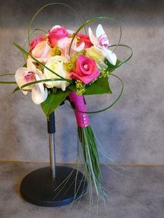 Fleurs Mariage Bouquet Orchidee Baergrass Big