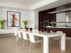 50 Modern Dining Room Designs For The Super Stylish Contemporary Home  Kitchen, Ideas, Diy