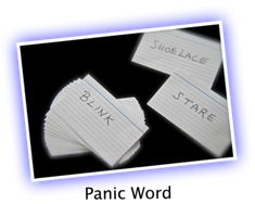 This is a great game for 21st Birthdays. It also oworks well for family parties, Christmas and Thanksgiving.  GET READY  Write down 100 words on index cards (one word per index card), such as:  blink, stare, lint, thread, plate, bra, shoelace - any words you like.