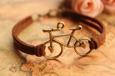Bicycle bracelet any would want to wear!