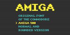 Font dňa – Amiga   https://detepe.sk/font-dna-amiga?utm_content=buffer38520&utm_medium=social&utm_source=pinterest.com&utm_campaign=buffer