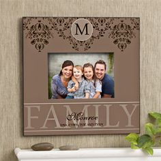 Forever Family Personalized Photo Wall Frame