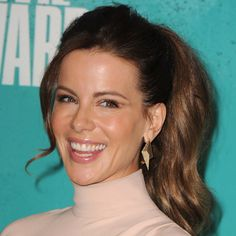 Kate Beckinsale #makeup #style at the 2012 MTV Movie Awards