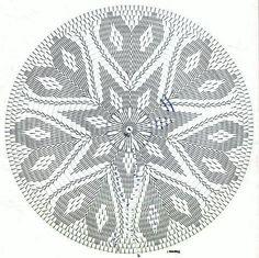 Best 12 Passadeira Primavera Photo by erchristianini Crochet Circles, Crochet Doily Patterns, Crochet Mandala, Filet Crochet, Crochet Motif, Crochet Doilies, Crochet Stitches, Crochet Hats, Crochet Bedspread