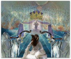 ❥ Soon and very soon my King is coming, Robed in righteousness and crowned with love, When I see Him I shall be made like Him, Soon and very soon. ❥ I will be with the One I love, With unveiled face I'll see Him,  There my soul will be satisfied, Soon and very soon.