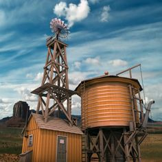Windmill Water Tower-SR