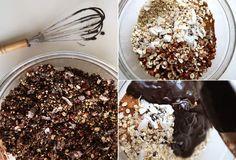 Шоколадно-гречневая гранола