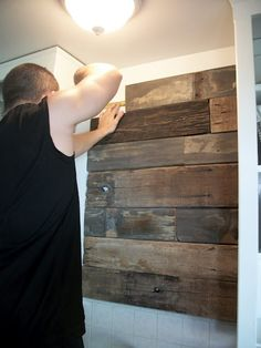 love this idea for a wall