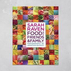 A new cookbook from Sarah Raven, Food for Friends and Family is a cookbook full of over 450 recipes. A joyous celebration of both the countryside and of fantastic food, and one that you'll turn to for inspiration again and again. Mini Christmas Cakes, Christmas Lunch, Christmas Gifts, Gin Recipes, Cake Recipes, Apple Gin Recipe, Blackberry And Apple Pie, Passion Fruit Sorbet