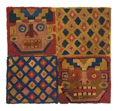 The Textile Museum  Textile Fragments  Peru  Ca. 800-950  TM 91.119  Acquired by George Hewitt Myers in 1932.