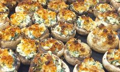 Spinach & Artichoke Dip Stuffed Mushrooms: 27 Ways To Transform Your Favorite College Snacks Into Real Food