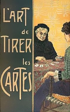 """L'Art de tirer les cartes""  1936  The art of drawing cards  1936"
