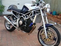 1995 yamaha trx 850 cafe-stil, trx, motorräder